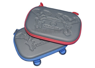 Hard Shell EVA Game Carrying Case with Embossed Pattern, OEM service