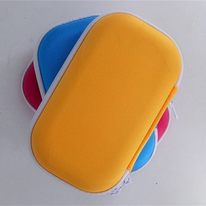 Customized Nylon EVA Carrying Case with Elastic Band for Game Console