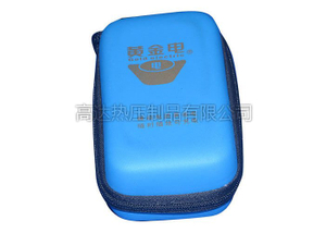 EVA Custom Power Bank Carry Case Waterproof With debossed logo